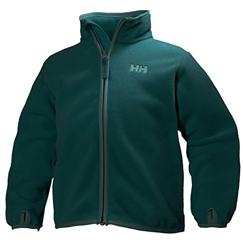 Helly Hansen K Daybreaker Fleece Jacket - Chaqueta unisex para niños Verde (270 MINERAL GREEN)