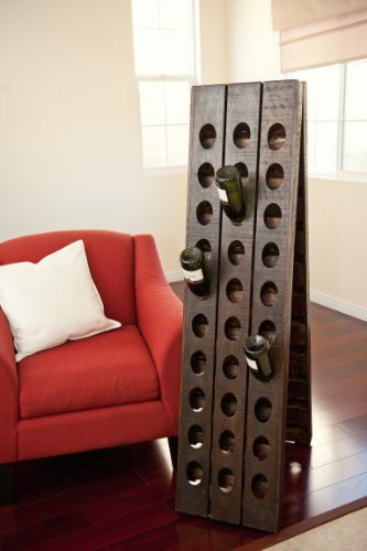 Riddling Rack: 60 Bottle Floor Rack (Riddling Wine Rack)