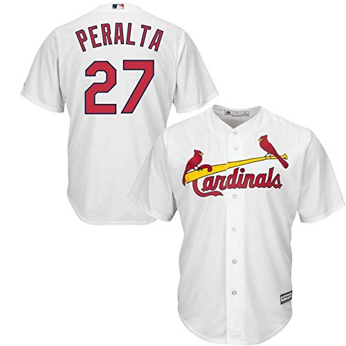 Majestic Majestic Louis Jhonny Peralta Player St. Louis Cardinals White Base Official Cool Base Player Jersey スポーツ用品【並行輸入品】 XXL B07GP2PF9N, ブランドマイスター:2cb0d993 --- cgt-tbc.fr