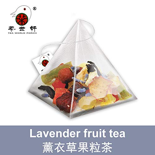 3g10pcs Lavender Fruit Tea Grain Tea Vitamin Supplement Three-dimensional Fruit Tea Bag Sleeping Vitamin