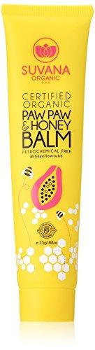 Certified Organic Paw Paw & Honey Balm 0.88 oz by Suvana Beauty