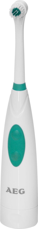 AEG EZ 5622 - Cepillo de dientes eléctrico de rotación, color blanco y verde: AEG: Amazon.es: Salud y cuidado personal