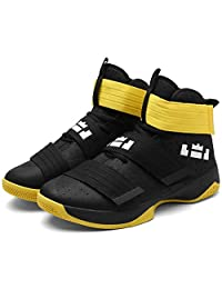 Mrh.Dar High Top Basketball Shoes for Men Minimalist Shoes Performance Sports Running Sneakers Ultra Boost Shoes