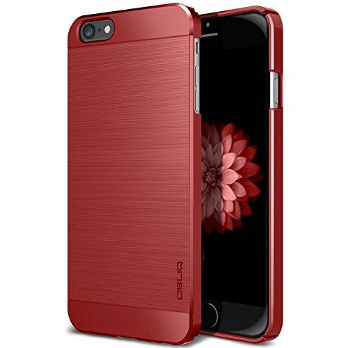 iPhone 6S Plus Case, OBLIQ [Slim Meta] [Metallic Red] Premium Slim Fit Thin Armor All-Around Shock Resistant Polycarbonate Metallic Case for Apple iPhone 6S Plus (2015) & iPhone 6 Plus (2014)