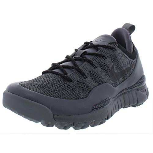 brand new c5b4a 30c1a Nike Mens Lupinek Flyknit Low Breathable Fashion Sneakers Gray 11 Medium (D)