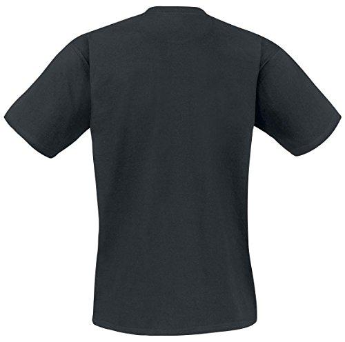 Stampa Fan Grande Per Serie Della Heisenberg Cotone Tv L Nero Frontale Tours shirt Bad T Breaking wqx1PYY