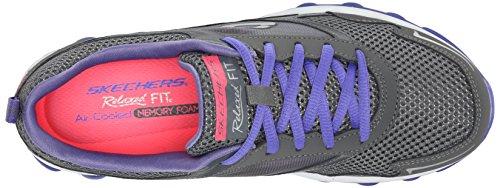 Skechers Skech-air Rf - Zapatillas Mujer Gris - Grau (CCPR)