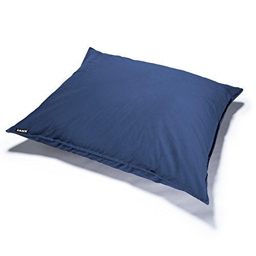 Jaxx Pillow Saxx 3.5 Foot Bean Bag Pillow - Velvet Twill, Blue by Jaxx