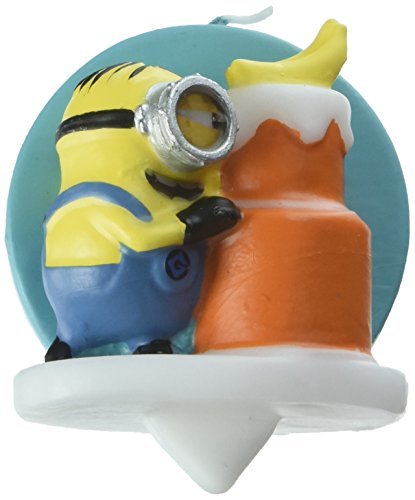 Wilton 2811-7112 Despicable Me 3 Minions Birthday Candle, Assorted]()