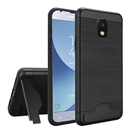 e8a4d8e1231 Phone Case Compatible for Samsung Galaxy J7-Crown, J7-Aura, J7-Aero, J7-Top  J7-Star J7-Refine J7-2018 J7V-2nd Gen Dual-Layered Card Holder Cover ...