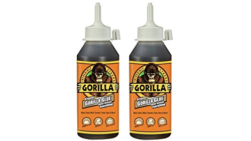 Gorilla 5002801-2 Original Glue, 8 oz, Brown, (Pack of 2), 2 - Pack, 2 Piece -