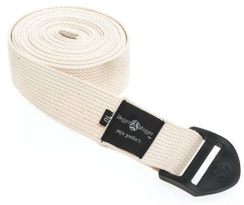 Hugger Mugger Cinch Yoga Strap (Natural, 10 ft.)