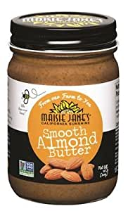 Maisie Jane's Natural Nut Butter 12oz Almond - Smooth (3 Pack)
