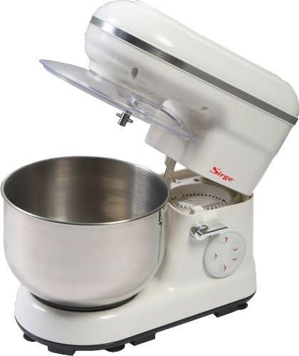 Sirge PASTAMIA amasadora planetaria multifunción automática 5 L/1,9 kg máx. motor CC 800 W directo robot de cocina máquina para pan máquina para pizza: Amazon.es: Hogar