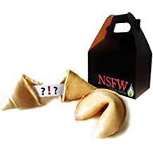 NSFW Fortune Cookies: Inappropriate Edition (Insulting Adult Content) Gift Box (20 Count)