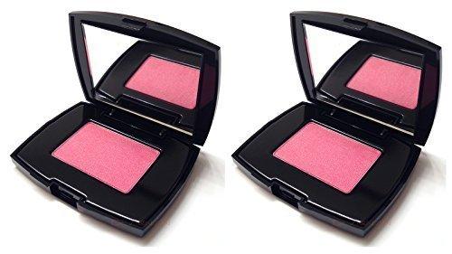 Blush Subtil Delicate Oil-Free Powder Blush in Shimmer Pink Pool 2.5g Each (Lot of 2) Unboxed by - Subtil Lancome Shimmer Blush