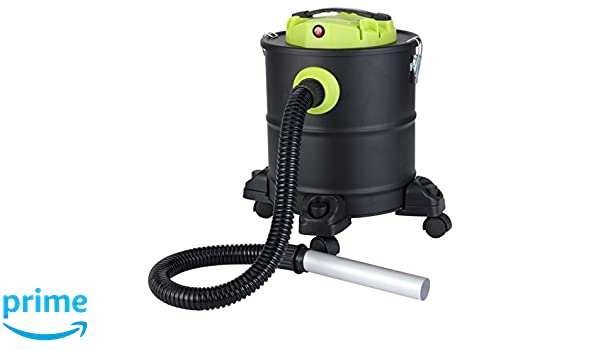 Qlima ASZ 1020 Aspiradora de Cenizas, 1200 W, Negro, Verde, Plata: Amazon.es: Bricolaje y herramientas