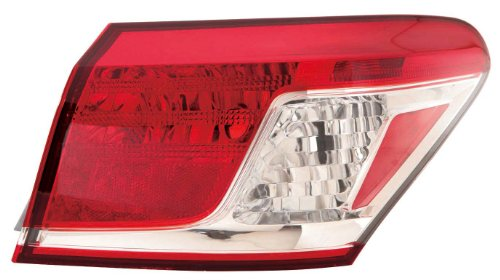 Depo 324-1907R-US Lexus ES 350 Passenger Side Outer Tail Lamp Assembly with Bulb and - 324 Us