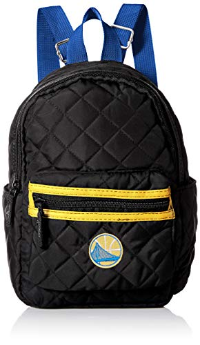 (Golden State Warriors Black Quilted Mini Backpack - Womens)