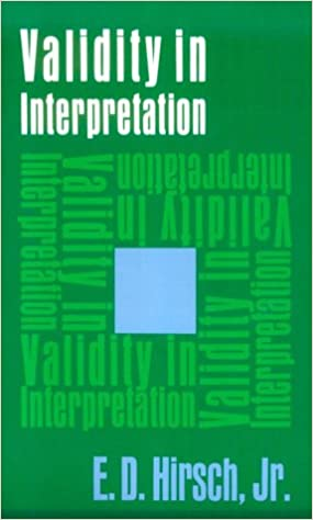 validity in interpretation against theory