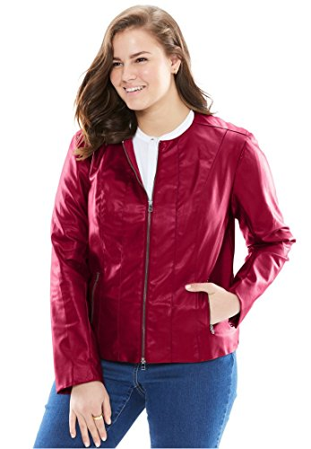 Woman-Within-Plus-Size-Faux-Leather-Jacket