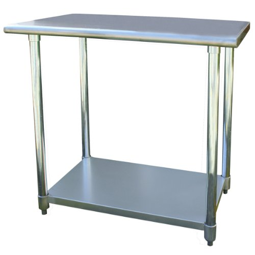 Sportsman Stainless Steel Work Table, 24 by 36-Inch by Sportsman