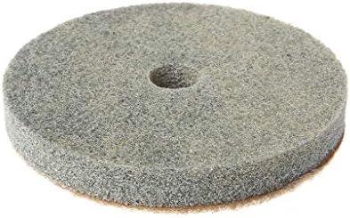 y disco extra de gancho y bucle 3 Pasos Diamante Almohadilla de Pulido universal para pulir en h/úmedo Set 7 pezzi 100mm 1 aluminio almohadilla con velcro trasero ajuste M14 StoneCraft 3
