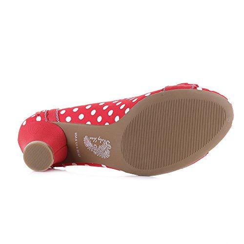 Ruby Shoo Hayley - Red Spots