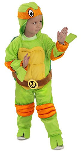 Princess Paradise Baby Boys TMNT Michelangelo Jumpsuit, Green, Small -