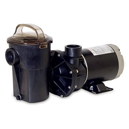 Hayward SP1580X15 Power-Flo LX Series 1-1/2-Horsepower Above-Ground Pool Pump with Cord