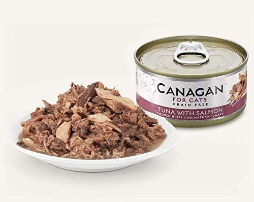 canagan Forro para gatos sin cereales – Tuna with Salomon – 75 G X ...