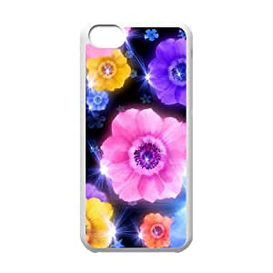 Petals DIY Cover Case for Iphone 5C,personalized phone case ygtg517987