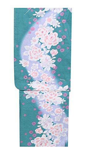 孤児指比率(京都スタイル) kyoto style 仕立上り レディース 浴衣 ゆかた 女性 5Lサイズ