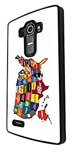767 - North America Commercial Map Design For LG G3 Fashion Trend CASE Back COVER Plastic&Thin Metal