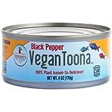 Sophie's Kitchen Vegan Toona Black Pepper -- 6 oz