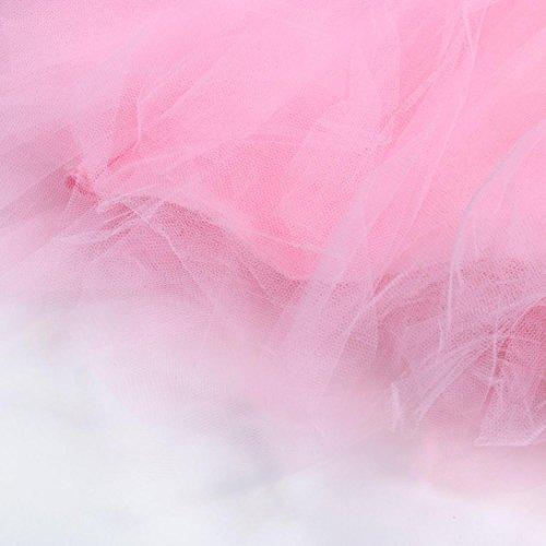 court Vintage PlissJupe 3 bulles Couche Pk Bouffe Robe Plisse en Danse Princesse Pettiskirt Mini Courte ballet Adulte Gaze D'lastique Jupe14 Femmes Couleurs tulle Tutu ZOFq11