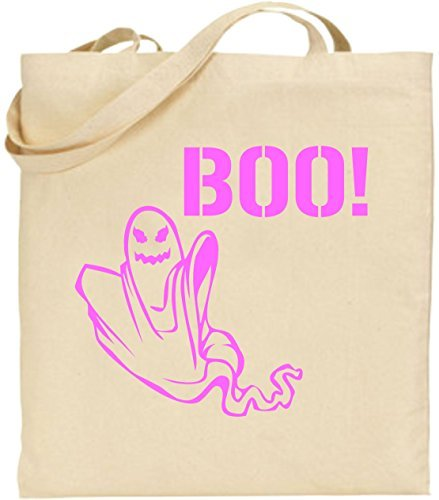 Tote Shopping Bag Gift Ghost Boo Scary Trick