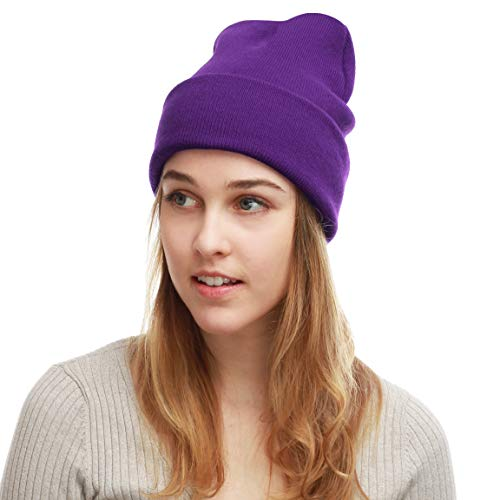 THE HAT DEPOT Made in USA Skull Beanie Hat -