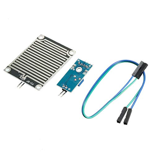 Uxcell a13082300ux1431 2 Pcs Water Sensor Rainwater Module Rain Detection Module -