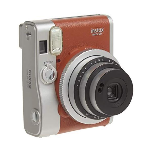 RetinaPix Fujifilm Instax Mini 90 Neo Classic Instant Film Camera (Brown)