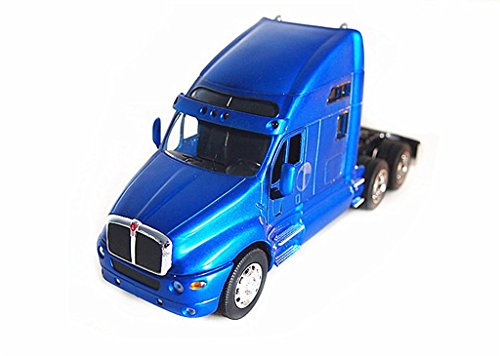 1:32 Welly Kenworth T2000 Semi Tractor Trailer Truck Diecast Model Blue New in Box 32210