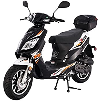 41CPd037wsL._SL500_AC_SS350_ amazon com tao tao quantum 150 street legal scooter fully 50Cc Scooter Wiring Diagram at fashall.co