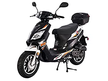 Tao Tao Dealers Near Me >> Tao Smart Dealsnow Brings Brand New Tao Tao Thunder 50 Gas Street Legal Scooter With Matching Trunk Sporty Black Color
