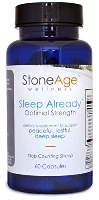 Stone Age Wellness - Sleep Already - Natural Sleep Aid - 60 Capsules