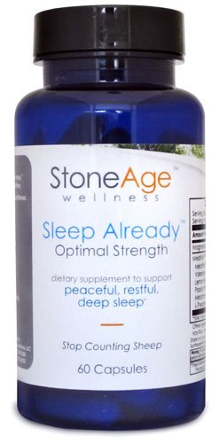 Sleep Already - Natural Insomnia Remedy - 60 Capsules