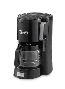 DeLonghi ICM 15240.BK Filterkaffeemaschine, schwarz