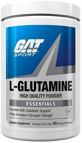 GAT Sport Pure and Potent L-Glutamine Supplement for Advanced Athlete Recovery, 500 Gram