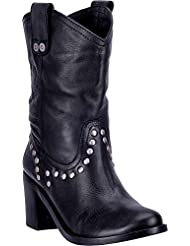 Dingo Womens Louisa Cowgirl Boot Round Toe - Di 729
