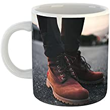 Westlake Art - Coffee Cup Mug - Shoe Boot - Modern Picture Photography Artwork Home Office Birthday Gift - 11oz (*9m-08d-be9)