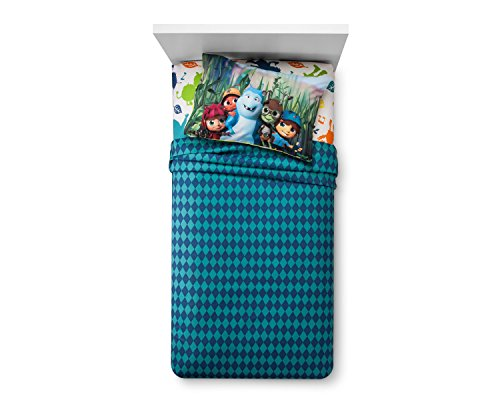 Beat Bugs 4 Piece Full Sheet Set - Blue Sheet Set Bug